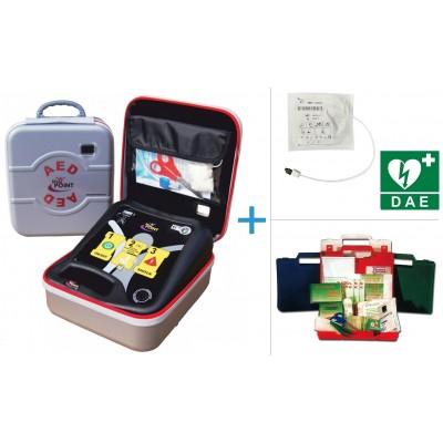 DEFIBRILLATORE SEMIAUTOMATICO Life-Point Pro AED - Piastre adulti e pediatriche