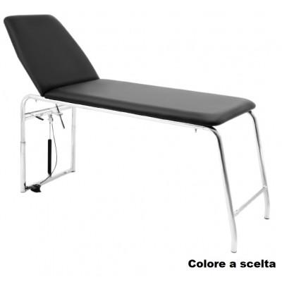 LETTINO MEDICO DA VISITA - ACCIAIO - TRENDELENBURG - DUAL T