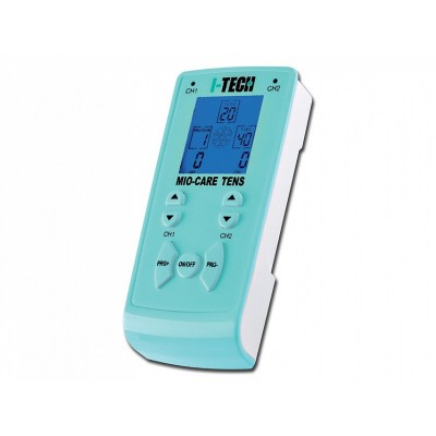 ELETTROSTIMOLATORE I-TECH MIO CARE TENS - 20 PROGRAMMI E 300 MODALITA APPLICATIVE