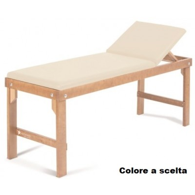 LETTINO MEDICO PER VISITA E TRATTAMENTI IN LEGNO - Moretti Antares