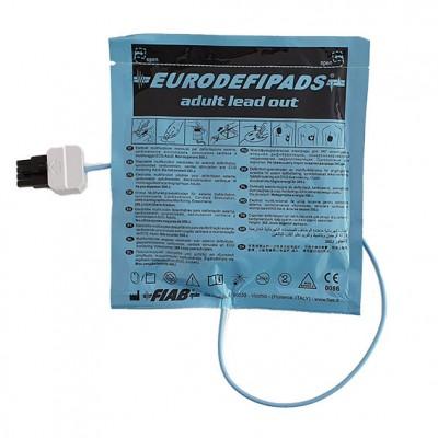 Coppia di piastre per adulti per Defibrillatore Semiautomatico Life-POINT Pro AED