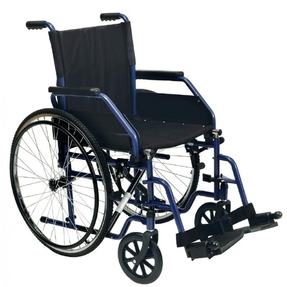 Sedia a rotelle ad autospinta - braccioli estraibili ...