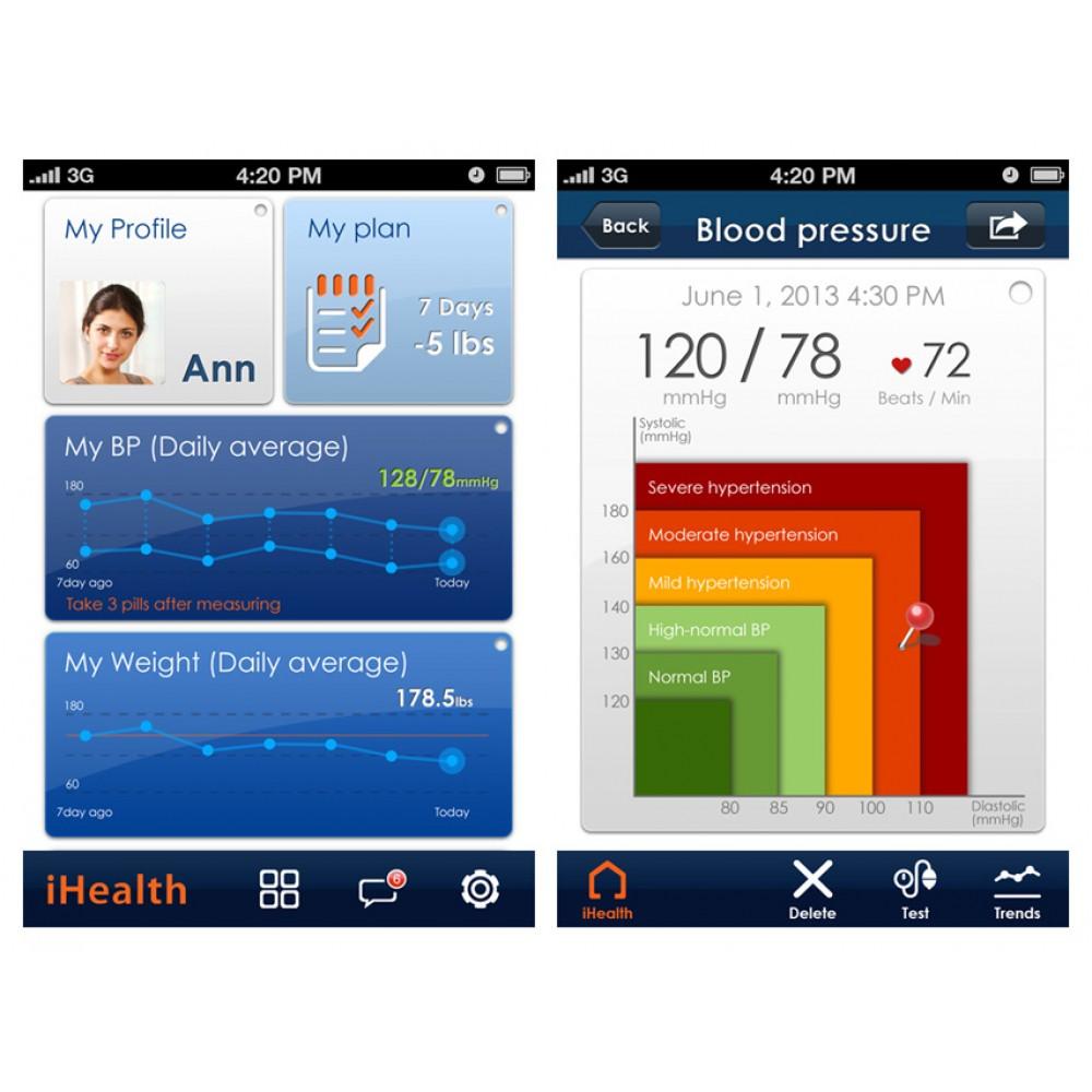 MISURATORE PRESSIONE iHEALT BP5 - braccio