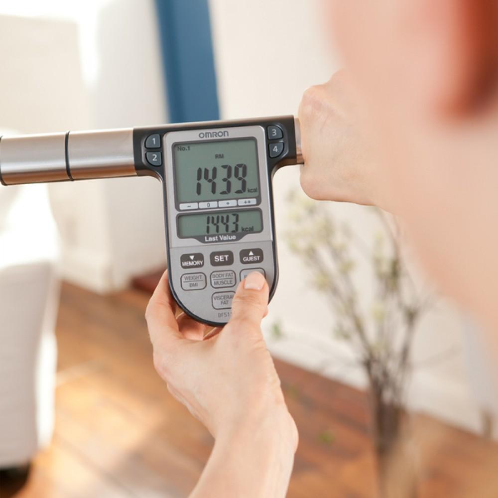BILANCIA PESAPERSONE DIGITALE - BODY COMPOSITION - BMI - OMRON BF511