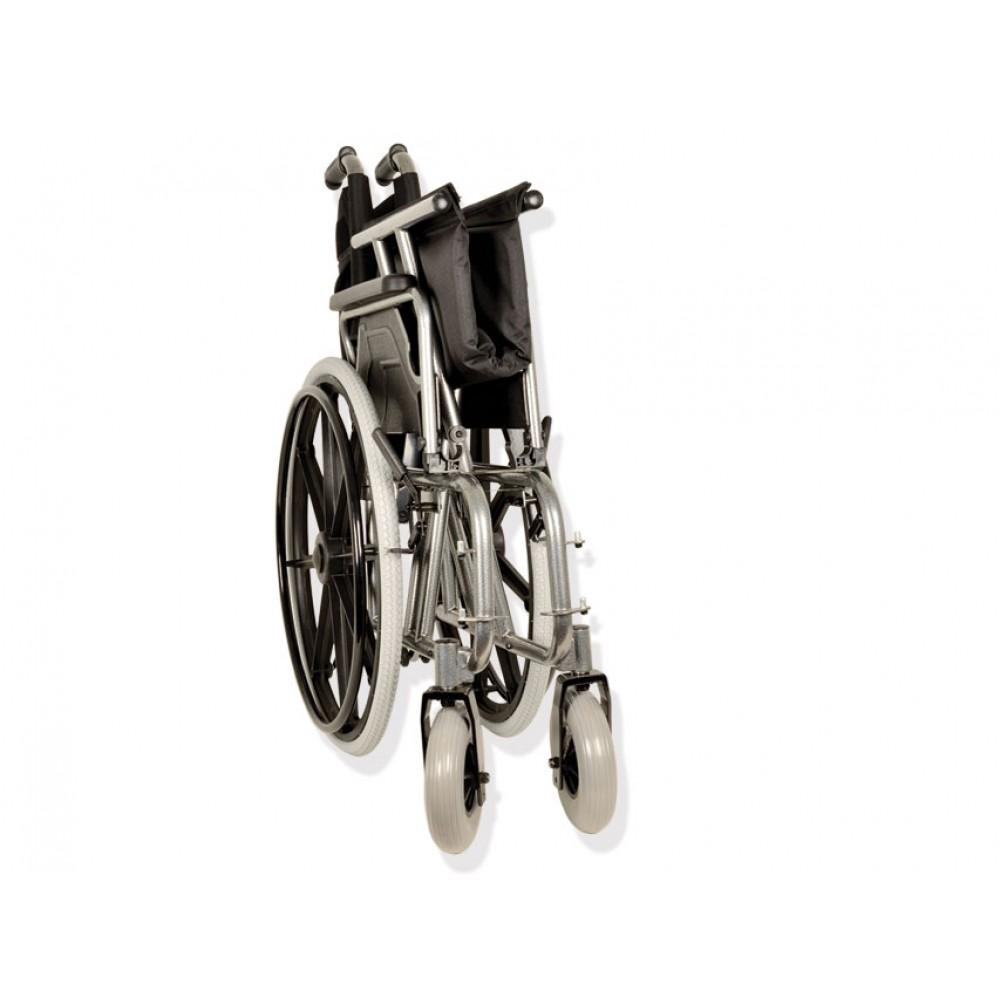 Sedia a rotelle autospinta pieghevole Gima Extra large - Dim. 55 cm 80b75519bda