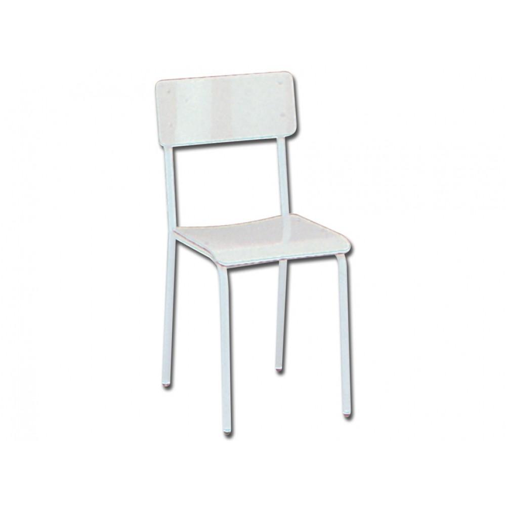 Sedute In Plastica Per Sedie.Sedia Seduta In Plastica Grigia
