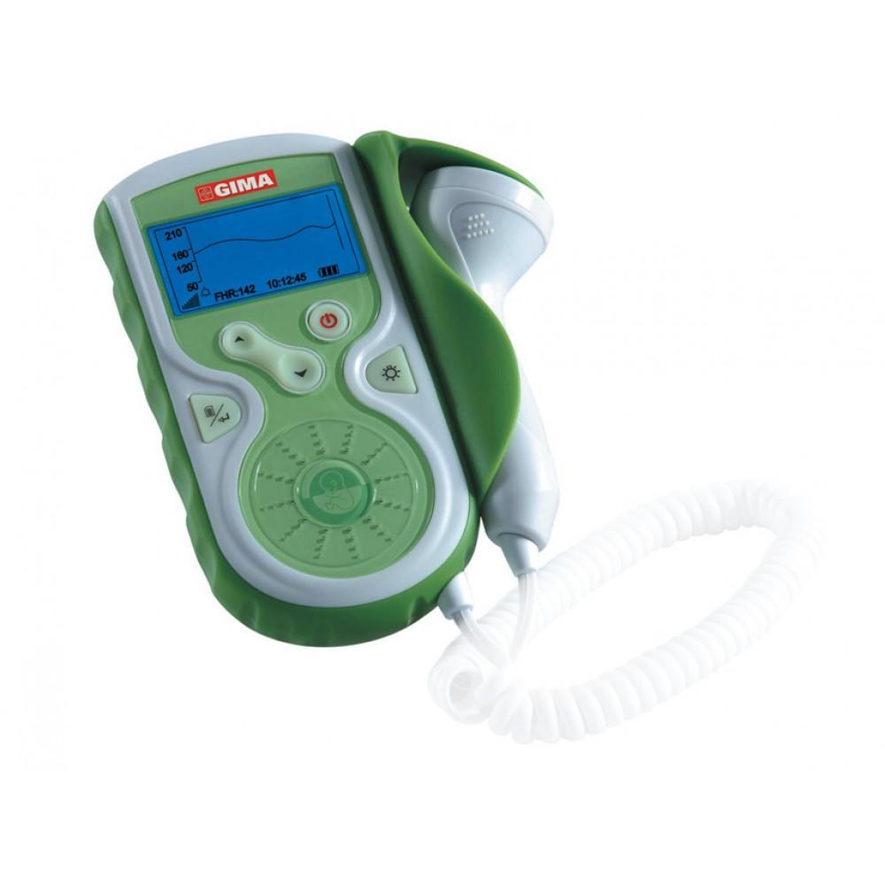 DOPPLER FETALE BABY SOUND GIMA - con display e sonda intercambiabile 1 MHz