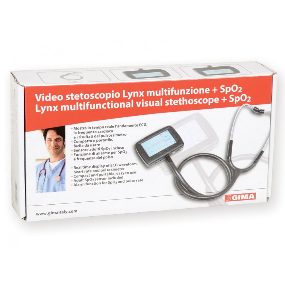 VIDEO STETOSCOPIO ELETTRONICO MULTIFUNZIONE CMS-M con SpO2 - LYNX