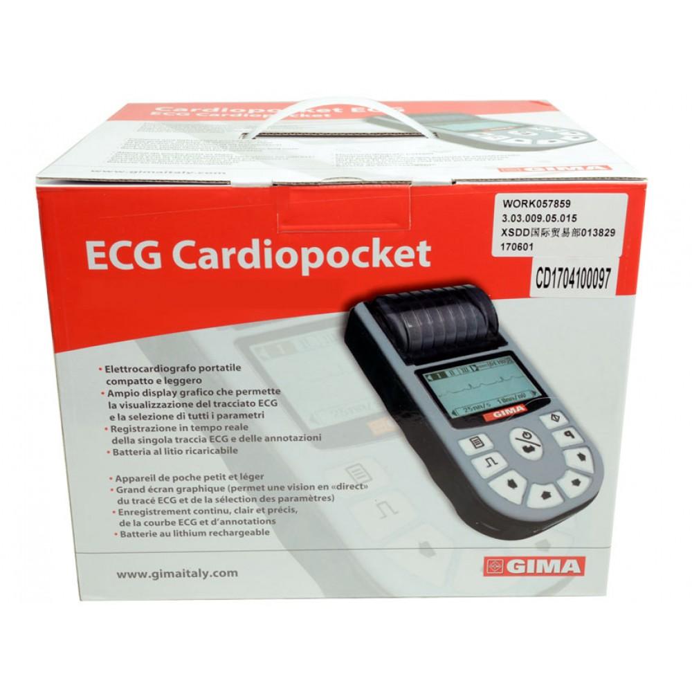 ELETTROCARDIOGRAFO PALMARE - 1 CANALE - 12 DERIVAZIONI - Cardiopocket