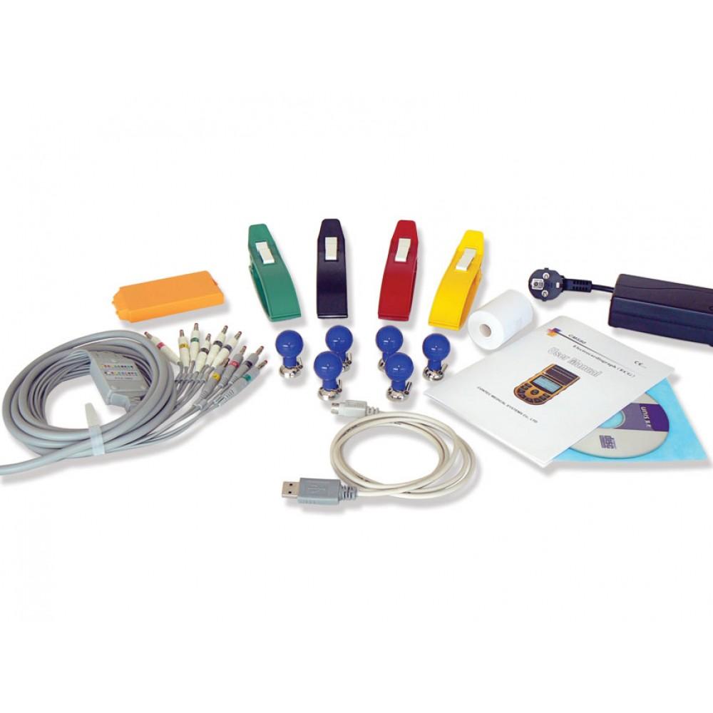 ECG ELETTROCARDIOGRAFO PALMARE CARDIOPOCKET - con software interpretativo