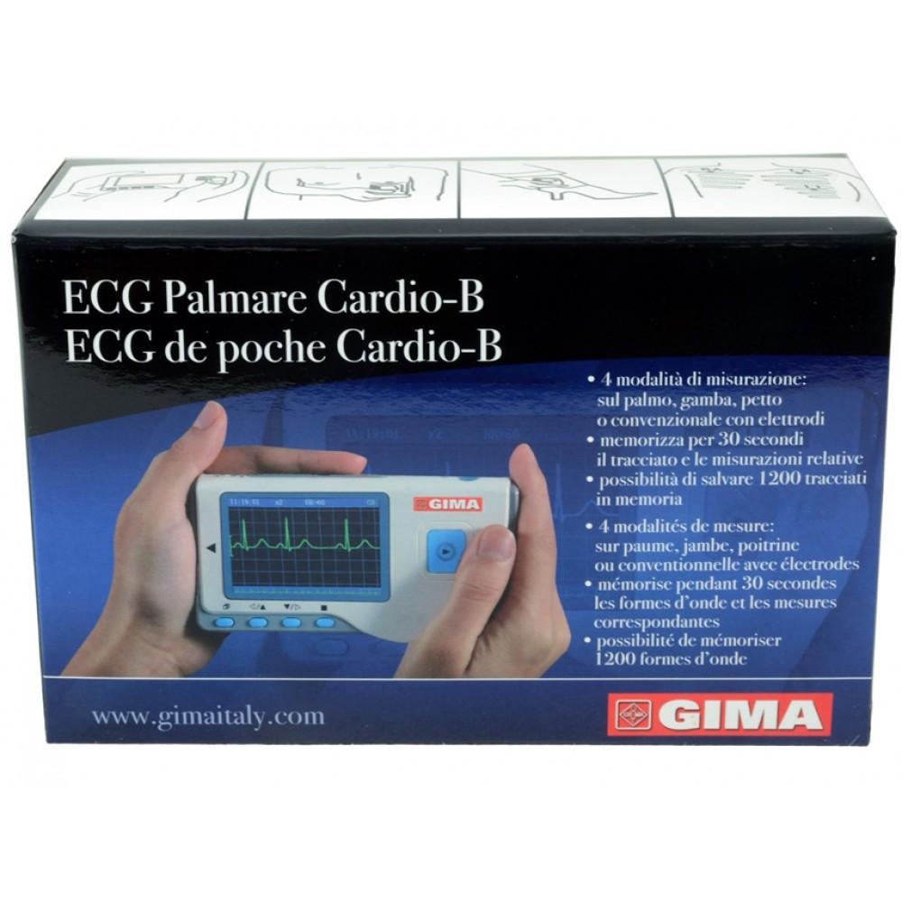 ECG ELETTROCARDIOGRAFO PALMARE CARDIO-B