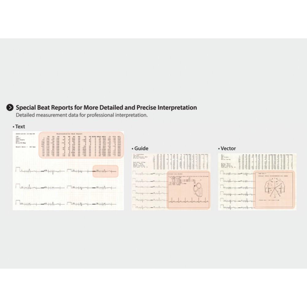 ECG ELETTROCARDIOGRAFO PORTATILE INTERPRETATIVO - TOUCH SCREEN - CARDIO 7 - 12 canali simultanei - con software