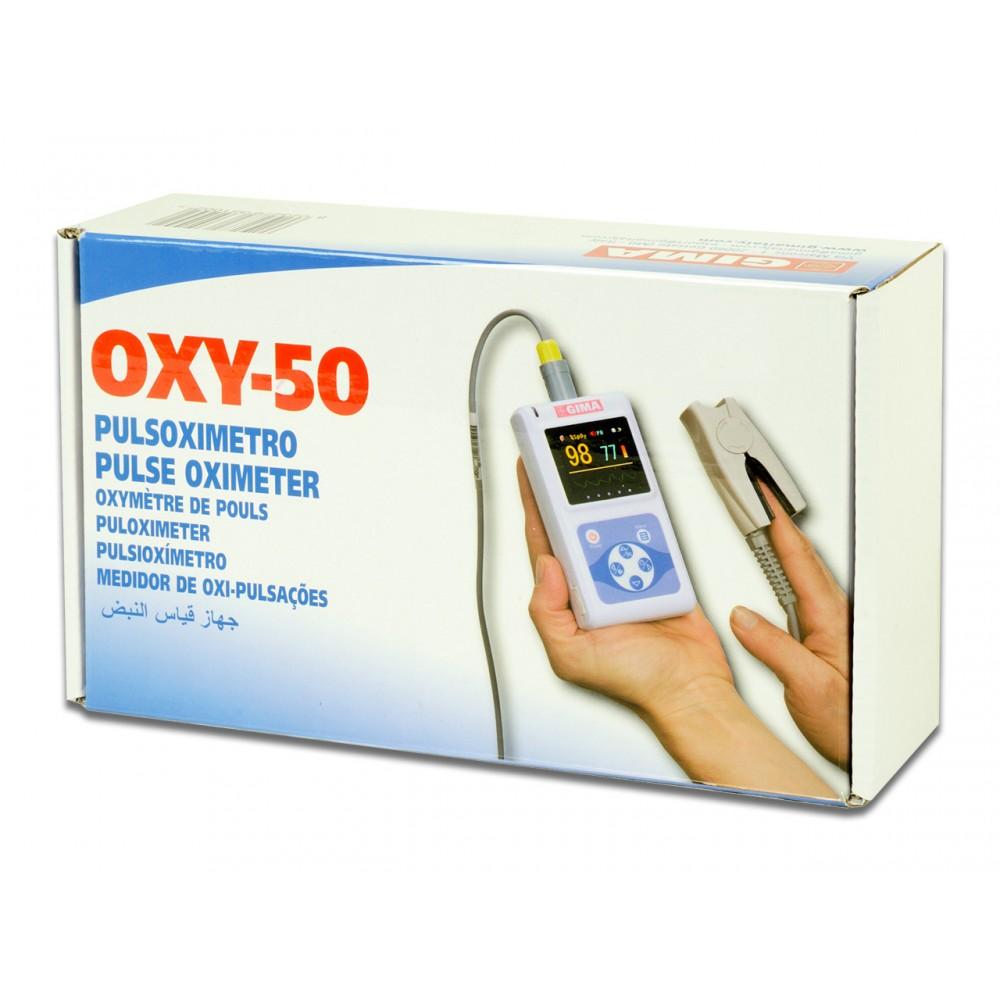 PULSOSSIMETRO DA DITO PORTATILE - SENSORE ADULTI - SOFTWARE - Oxy-50