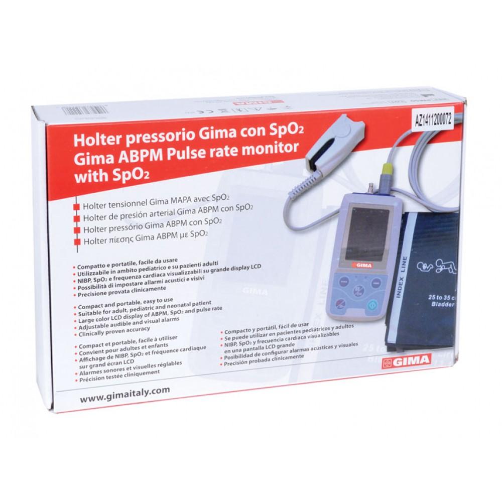 HOLTER PRESSORIO GIMA ABPM 24H / 24 ORE + SpO2 con software