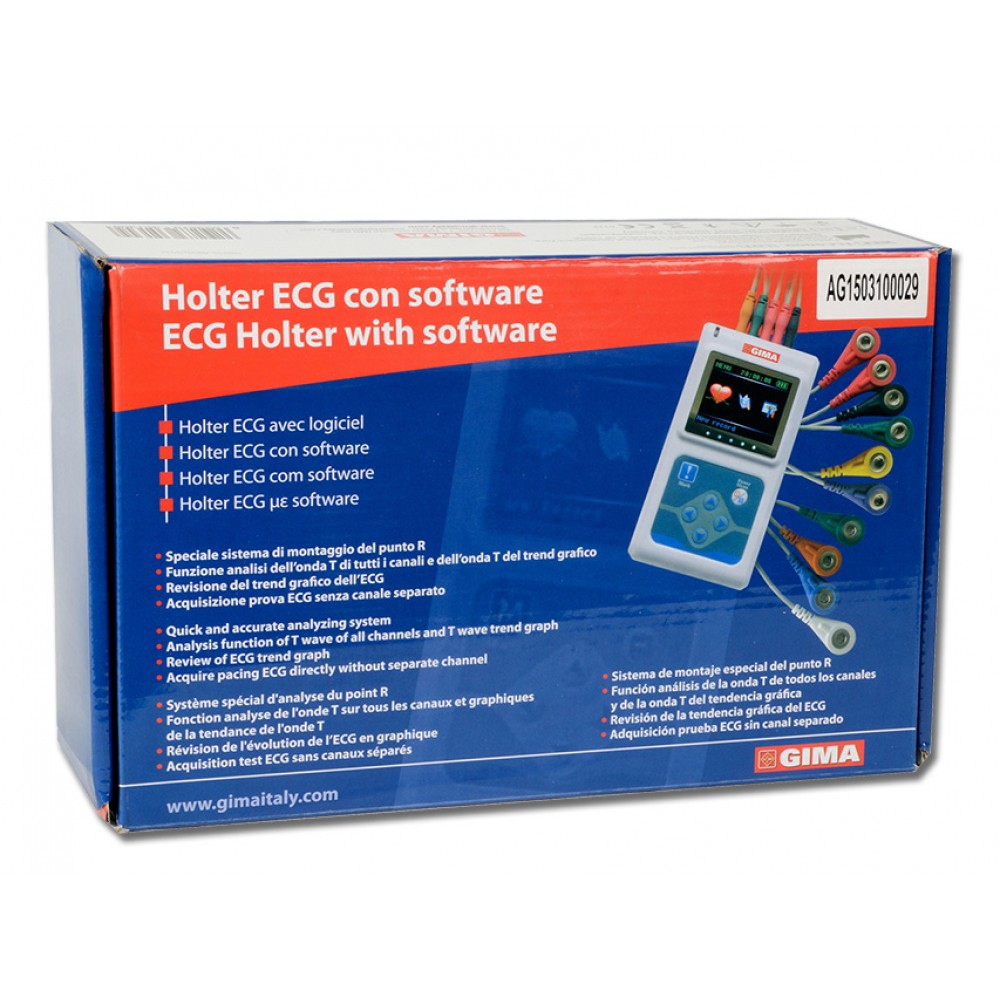 HOLTER ECG ELETTROCARDIOGRAFO + SOFTWARE