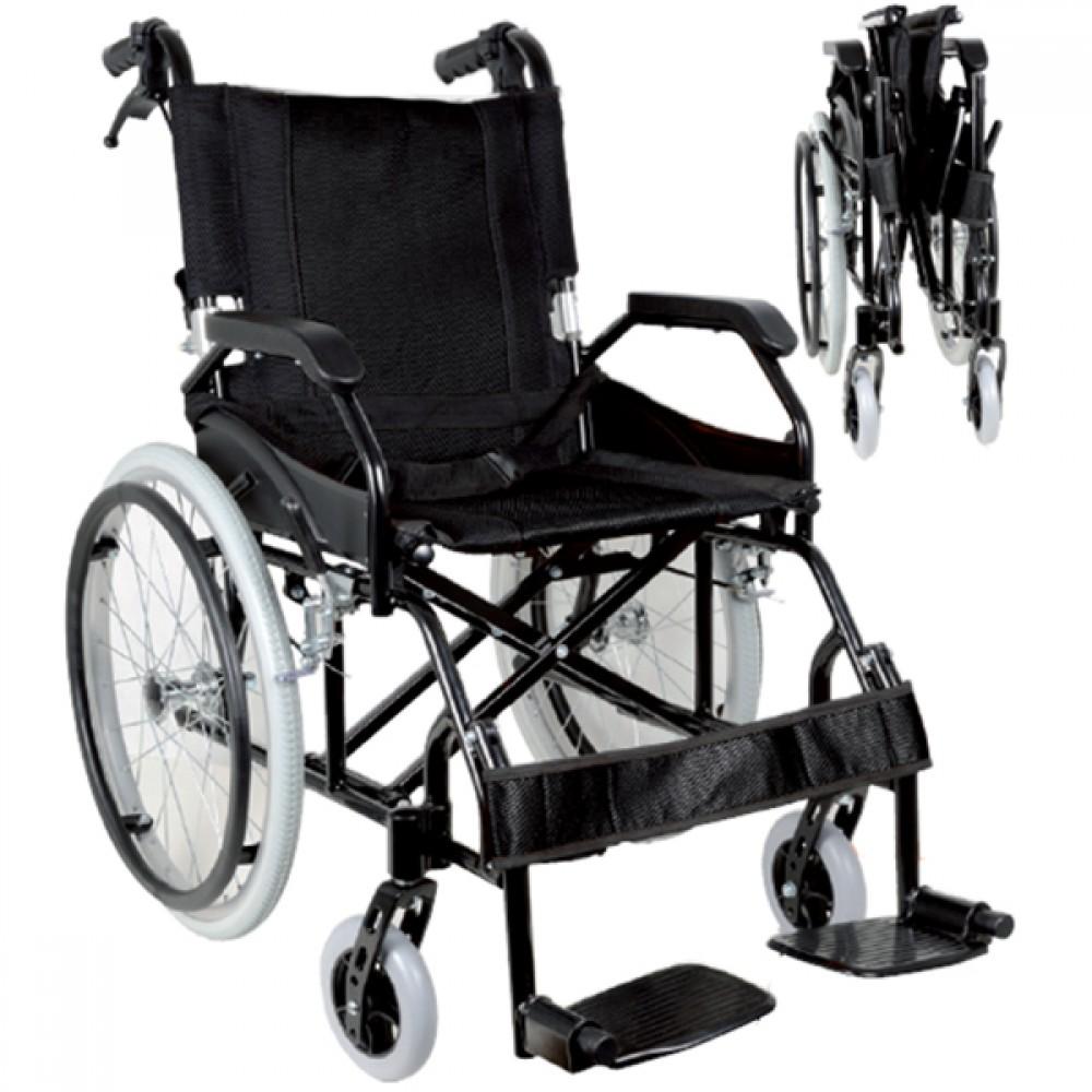 Sedia A Rotelle Pieghevole Carrozzina Per Disabili Ad Autospinta Superleggera Mod Prince Seduta 46 Cm Carrozzine Ad Autospinta Sedie A Rotelle Pieghevoli Carrozzine E Sedie Per Disabili