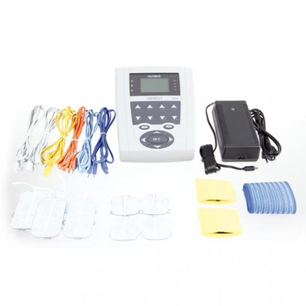 GENESY 3000 - Elettroterapia Professionale Completa - In Omaggio 8 elettrodi di varie misure