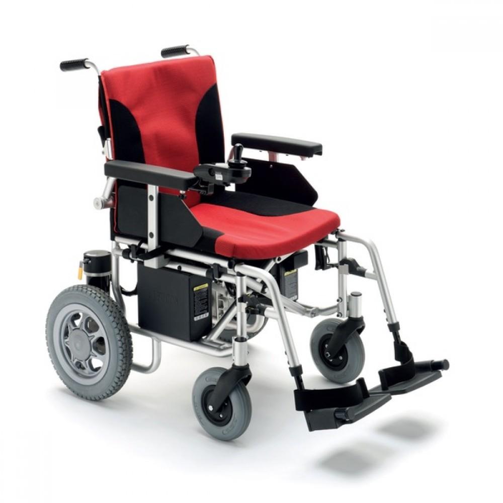 Sedia a rotelle elettrica - pieghevole - alluminio - K-Basic