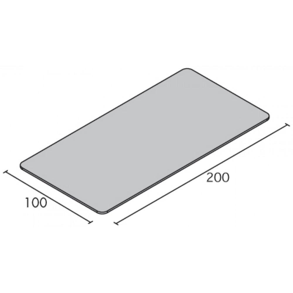 LETTINO BOBATH - REGOLABILE IN ALTEZZA - LARGHEZZA: 100 cm - ECO D100