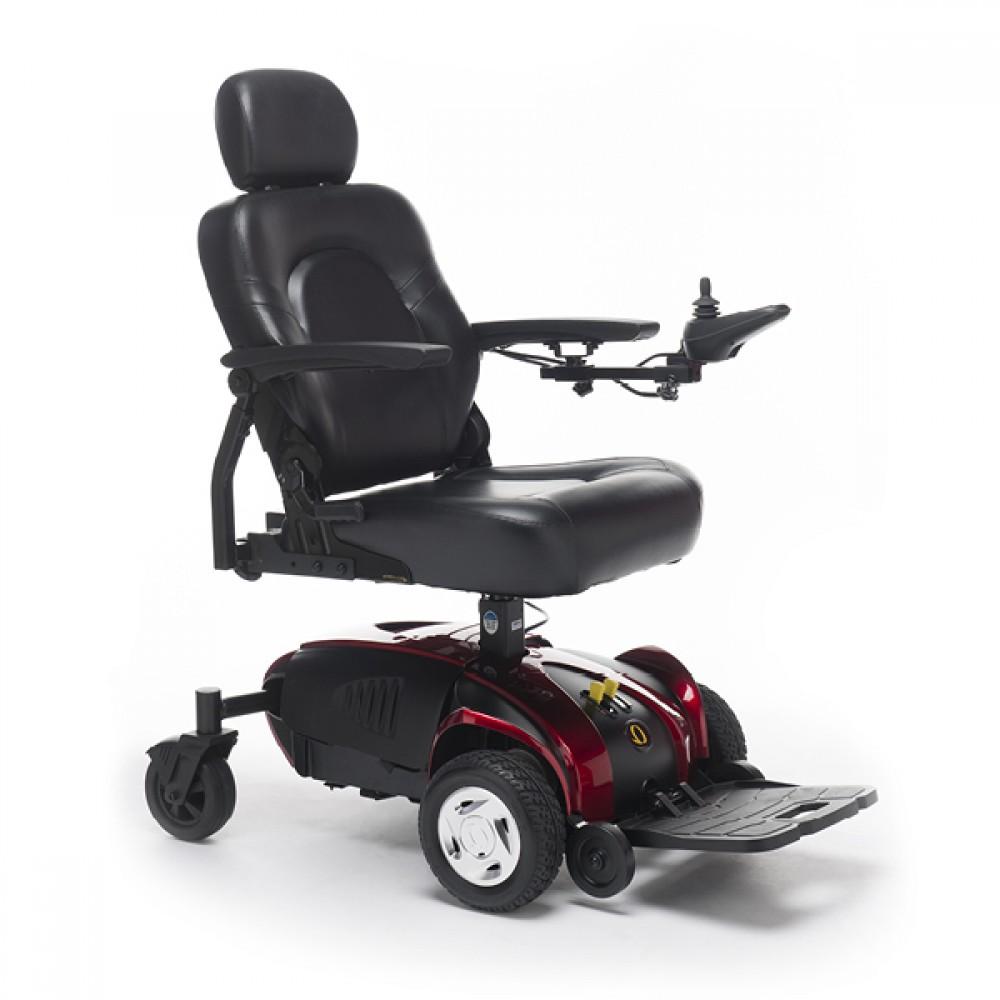 Sedia a rotelle elettrica pieghevole - trazione anteriori ...
