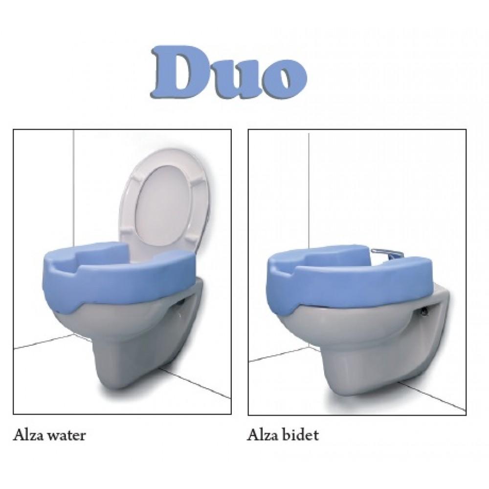 Rialzo Per Wc E Bidet.Rialzo Per Water E Bidet In Eva Altezza 10 Cm Moretti Duo