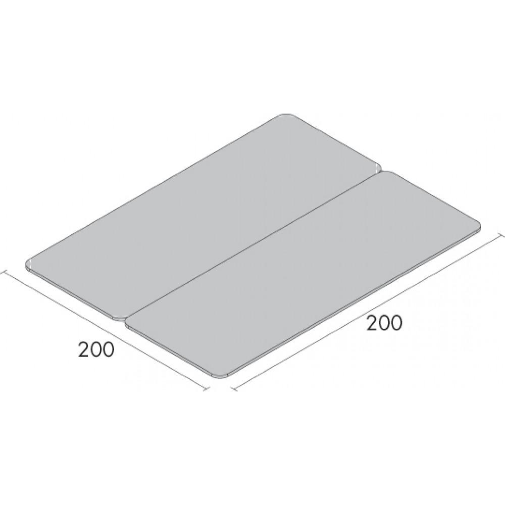 LETTINO BOBATH - REGOLABILE IN ALTEZZA - LARGHEZZA: 200 cm - SD200