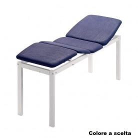 LETTINO DA VISITA IDRAULICO A 3 SEZIONI - 4 SNODI - METAL BASIC 3