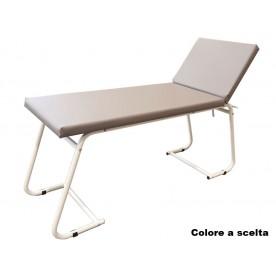 LETTINO MEDICO - VISITE E TRATTAMENTI - VERNICIATO - Dim. 180x61x75cm