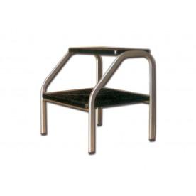 PREDELLINO PER AMBULATORIO - 2 GRADINI - Dim. 44x40x22/45h cm