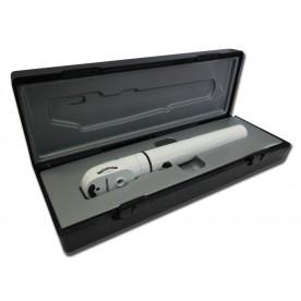 OFTALMOSCOPIO E-SCOPE® - LED 2.5V - bianco in valigetta rigida