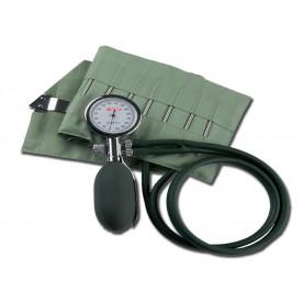 MISURATORE DI PRESSIONE / SFIGMO MINOR 2 - 2 tubi - bracciale verde a ganci