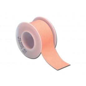 ROTOLO CEROTTO - tessuto color pelle - 5 m x 2.5 cm - Conf. da 12 pz.