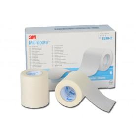 MEDICAZIONE MICROSPORE 3M - Dim. h25mm x 9,14m - Conf. 6pz
