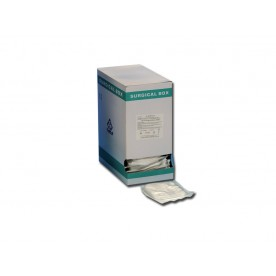 COMPRESSE GARZA COTONE STERILI - 7.5 x 7.5 cm - Conf. da 250 pz.