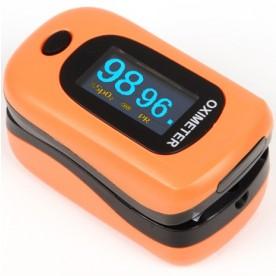 PULSOSSIMETRO DA DITO - MISURA BATTITO E SpO2 - Oxy 4 - Arancione