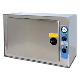 STERILIZZATRICE A SECCO TERMOVENTILATA - PIANI REGOLABILI - 60 litri - Gima Mod. Titanox