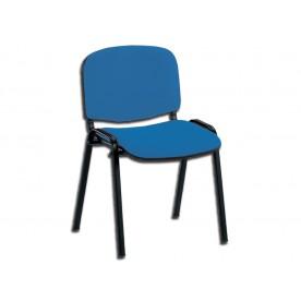 SEDIA DA ATTESA ISO - tessuto blu