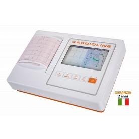 ELETTROCARDIOGRAFO - 12 DERIVAZIONI - 3/6 CANALI - ECG100L CARDIOLINE