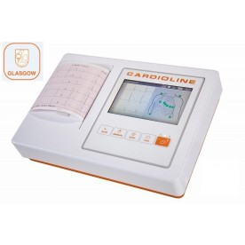 ELETTROCARDIOGRAFO A 3/6 CANALI - INTERPRETAZIONE GLASGOW - CARDIOLINE ECG100L