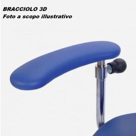 BRACCIOLO 3D PER SEDIA CHIRURGO SURGIMOVE