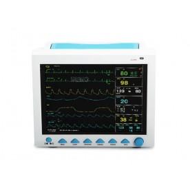 MONITOR MULTIPARAMETRICO - MULTILINGUA - ECG, SP02, NIBP, RESP, TEMP