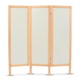 PARAVENTO IN LEGNO 3 ANTE IN MDF - Moretti - Dim. 158x170 cm
