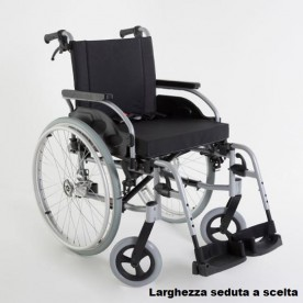 CARROZZINA AD AUTOSPINTA - RUOTE ESTRAZIONE RAPIDA - Action1 R