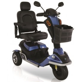 SCOOTER ELETTRICO - 3 RUOTE - DUE BATTERIE - MOBILITY 130