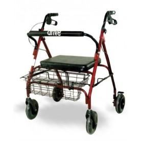 ROLLATOR PIEGHEVOLE BARIATRICO - Portata 200kg - Rollbar All Mobility