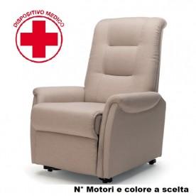 POLTRONA ELETTRICA - ALZAINPIEDI - 2 MOTORI - Lift/Relax/Bed - KSP Kappa 500