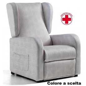 POLTRONA RELAX A 2 MOTORI CON KIT ROLLER - LIFT - RELAX - BED