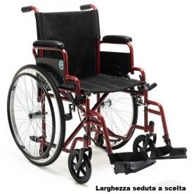 CARROZZINA AD AUTOSPINTA - RUOTE SGANCIO RAPIDO - KSP N30R24