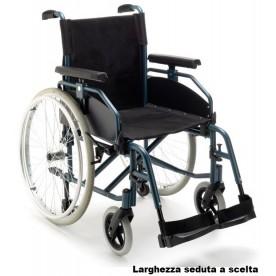 CARROZZINA AD AUTOSPINTA PIEGHEVOLE - RUOTE SGANCIO RAPIDO - N39R24