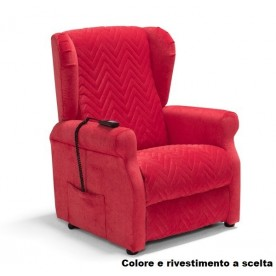 POLTRONA RELAX E LIFT A 2 MOTORI - ALZAINPIEDI - Bergè Compact